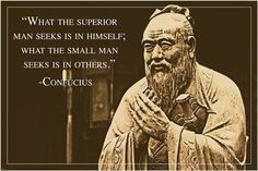 rare unique CONFUCIUS PHOTO QUOTE POSTER ancient chinese philosopher 24X36