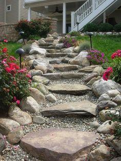 Image result for natural garden path slope