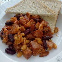 Naše fazole s uzeným masem - Rychlá večeře Kung Pao Chicken, Quinoa, Ethnic Recipes, Food, Bulgur, Essen, Meals, Yemek, Eten