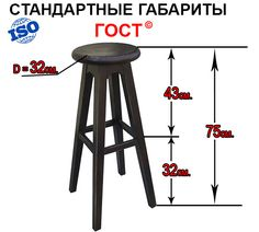 Картинки по запросу стандарт высота стула