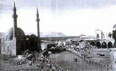 Rare Photo of Hejaz Railway Station, Medina and Ambariah Mosque