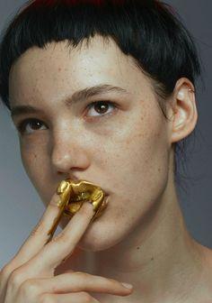 Anya Lyagoshina by Benjamin Lennox for Models.com  (Source: models.com)