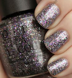 OPI - I love their gold sparkly polish, MUST try this one!