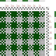 Hand Weaving Draft: Figure 1699, A Handbook of Weaves by G. H. Oelsner, 2S, 2T - Handweaving.net Hand Weaving and Draft Archive