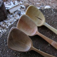 Cooking spoons by Jojo Wood