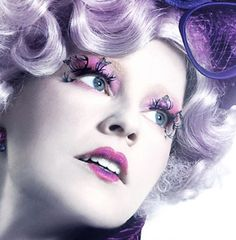 Effie Trinket-The Hunger Games. One of my favorite characters!