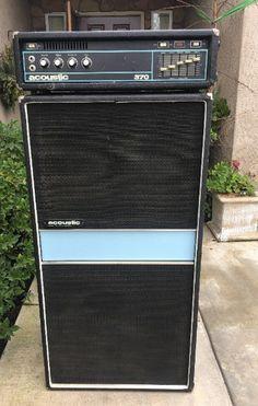 Valve Amplifier, Bass Amps, Bass Guitars, Guitar Amp, Acoustic, Cabinets, Rock, Music, Vintage
