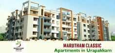 #Marutham #Classic offers 1 / 2 / #3BHK residential #apartments in #Chennai. It truly is the best choice for location and its privacy.