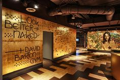 View David Barton Gym's photo and video gallery of their unique gym locations, features & amenities. Industrial Home Design, Industrial House, Home Gym Decor, At Home Gym, Piscina Spa, Sport Studio, Gym Interior, Interior Design, Home Gym Design