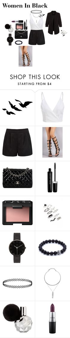 """""""Confidence"""" by alliemsolari ❤ liked on Polyvore featuring Forever New, Chanel, Marc Jacobs, NARS Cosmetics, Topshop, I Love Ugly, MAC Cosmetics and New Look"""
