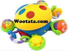 Permainan Bayi 18 Bulan Multifunction Puzzle Ladybug