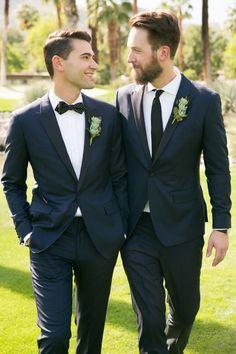 Gay wedding photos - See Why This Same Sex Palm Springs Wedding Made History – Gay wedding photos Lgbt Wedding, Wedding Pics, Wedding Men, Wedding Attire, Male Wedding Suits, Wedding Ceremony, Dream Wedding, Wedding Ideas, Cute Gay Couples