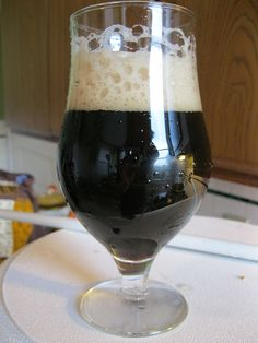 My Dark Storm Black IPA is fermenting now (not this recipe, but close)