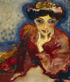 [ D ] Kees van Dongen - The Thinker (1907) | Flickr - Photo Sharing!