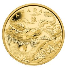 Canada Drachen Goldmünze mit nur 500 Stück Auflage jetzt verfügbar