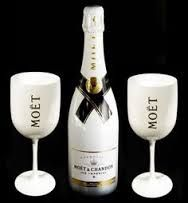 Image result for what price for collectors moet chandon white glasses?