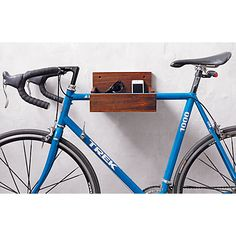 We'll hang two bikes this way and two the other way. wood bike storage in wall mounted storage Bicycle Storage, Bicycle Rack, Bmx Bicycle, Rack Velo, Bike Hanger, Wall Hanger, Hangers, Entryway Storage, Garage Storage