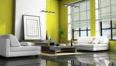 Βάλτε Σωστά το πιο Δροσερό Χρώμα της Φύσης στο Σαλόνι σας