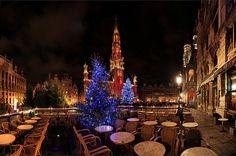 Christmas is coming soon!, Great Market, Brussels, Belgium by Batistini Gaston, via Flickr