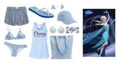 """Elsa beach day"" by theater-potter-dance-warriors ❤ liked on Polyvore featuring Madewell, Tory Burch, Linda Farrow, Aéropostale, Casetify and Belk Silverworks"