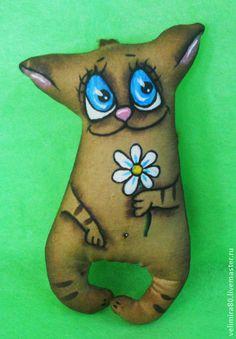 Котики... - коричневый,коты,кот,кофейная игрушка,кофейный кот,игрушка