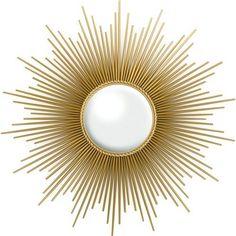 Sunburst Decorative Wall Mirror - Metal Gold - Threshold™ - image 1 of 5 Gold Sunburst Mirror, Sun Mirror, Sunburst Clock, Target Decor, Wall Mounted Mirror, Wall Mirrors, Mirror Room, Entryway Mirror, Foyer