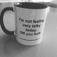 My coffee cup Funny Coffee Mugs, Coffee Humor, Funny Mugs, My Coffee, Coffee Cups, Rude Mugs, Drink Coffee, Coffee Quotes, Coffee Break
