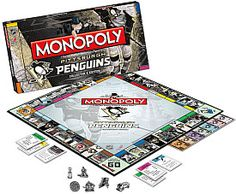 USAopoly Pittsburgh Penguins Monopoly Board Game - Shop.NHL.com