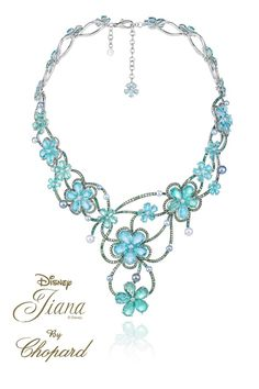 The new Haute Joaillerie collection is based around Ariel, Cinderelle et all (Vogue.com UK)