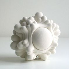 Ceramics by Kristine Tillge Lund (Art Hound) Organic Ceramics, Modern Ceramics, Contemporary Ceramics, White Ceramics, Abstract Sculpture, Sculpture Art, Organic Sculpture, Ceramic Sculptures, Ceramic Clay