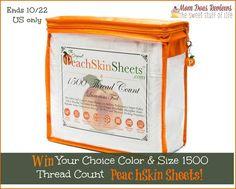 peach skin giveaway