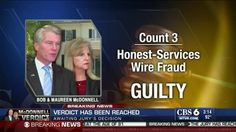Former Virginia Governor Bob McDonnell, Wife, Guilty On Corruption Charges  http://www.examiner.com/article/former-virginia-governor-mcdonnell-and-wife-found-guilty-of-corruption-charges?cid=db_articles