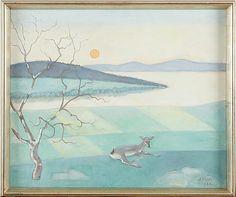 Einar Jolin oljemålning