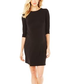 Black Audra Maternity Dress