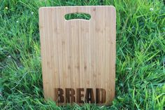 'Fish, Meat, Bread, Veggies' Personalised & Engraved Chopping Boards (Singles or Set) Personalised Chopping Board, Beeswax Polish, Wine Bottle Gift, Fish And Meat, Wooden Gifts, Types Of Food, Chopping Boards, Laser Engraving, Gift Tags