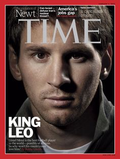 This week's international edition features global soccer star Leo Messi, the first soccer player to make the cover of TIME.