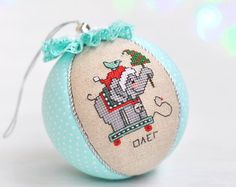 Image result for baby's first christmas ornament cross stitch