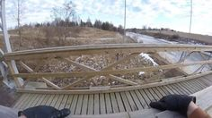 Bridge climbing & freerunning by the river