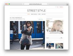 Street Style WordPress Theme for Fashion Bloggers