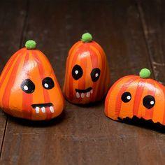 Tiny Rock Pumpkins