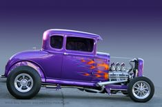 One cool hot rod!