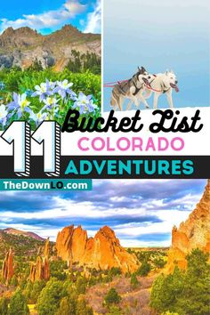11 Bucket List Colorado Adventures. Crazy adventure activities you didn't know you could have in Colorado. Adventurous attractions for Colorado road trips and weekend getaways from animal encounters to hikes, outdoor experiences like heli skiing and ice climbing for memorable road trips and family travel. Usa Travel Guide, Travel Advice, Travel Usa, Travel Guides, Travel Tips, Road Trip To Colorado, Road Trip Usa, Usa Places To Visit, Ice Climbing