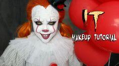 Halloween Makeup Tutorial IT 'PENNYWISE'