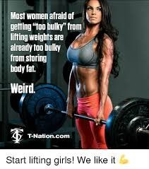 Obese women absolutely need to do strength training, especially with free weights!I continue to see a severe shortage of obese women lifting weights, i., strength training, especially in the free-weight area. Weight Lifting Quotes, Weight Quotes, Lifting Memes, Fitness Motivation, Fitness Tips, Fitness Quotes, Workout Quotes, Workout Fitness, Funny Fitness