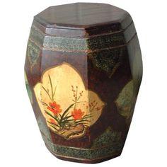 Antique Chinese Drum Stool