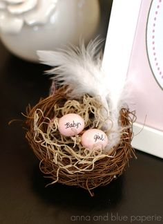 Love the theme of this baby shower. #babyshower #girl