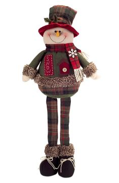 Free shipping and returns on Melrose Gifts Woodland Snowman at Nordstrom.com. <p>A fanciful snowman figurine adds rustic charm to your holiday display.</p>