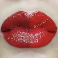 Both of these reds are amazing. Blue-Red vs. Fly Girl