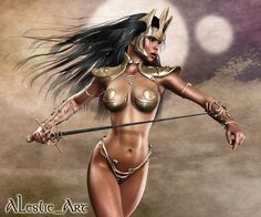 Dejah Thoris, Princess of the City-State of Helium on the planet Barsoom. Description from deviantart.com. I searched for this on bing.com/images