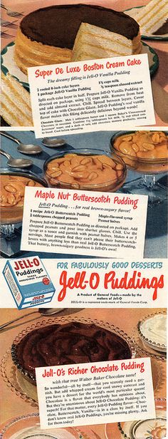 Jello Pudding by Shelf Life Taste Test, via Flickr